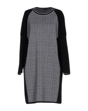 Короткое платье NEERA. Цвет: черный