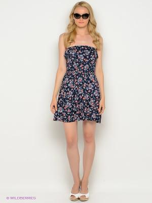 Платье New Look. Цвет: темно-синий