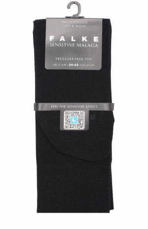 Хлопковые носки Sensitive Malaga Falke. Цвет: темно-синий