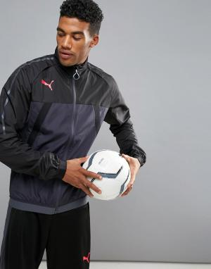 Puma Черная спортивная куртка Football evoTRG 65532506. Цвет: черный
