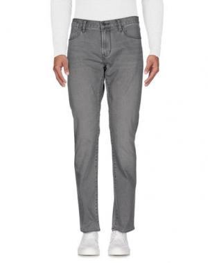 Джинсовые брюки JOHN VARVATOS ★ U.S.A.. Цвет: светло-серый
