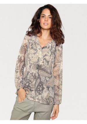 Блузка LINEA TESINI by Heine. Цвет: цветной