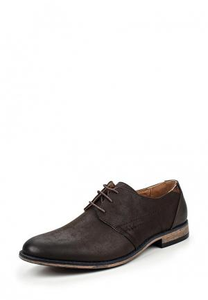 Туфли Tesoro. Цвет: коричневый