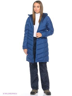 Пальто SELENIUM COAT Jack Wolfskin. Цвет: темно-синий