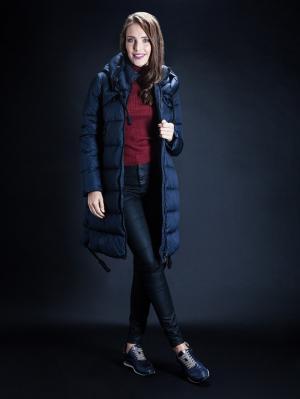Куртка Clasna. Цвет: синий