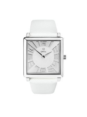 Часы ювелирные коллекция Q-Four, QWILL, Часовой завод Ника QWILL. Цвет: серебристый