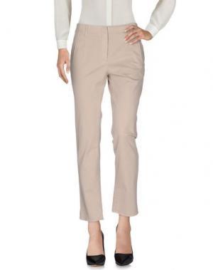 Повседневные брюки ROOM 52. Цвет: светло-серый