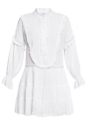 Платье из вискозы 184677 Anna Rita N. Цвет: белый