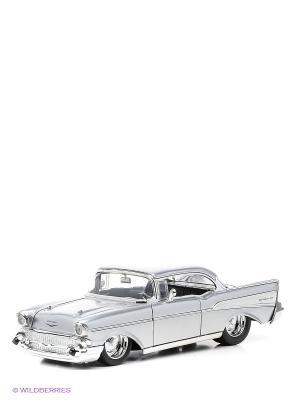 Машина 1957 Chevy Bel Air Hardtop Jada. Цвет: серый