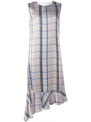 Asymmetric drop waist dress Aalto. Цвет: белый