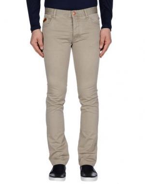 Повседневные брюки HISTORIC RESEARCH. Цвет: светло-серый