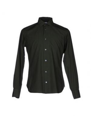 Pубашка DANOLIS per SCAGLIONE CITY. Цвет: зеленый