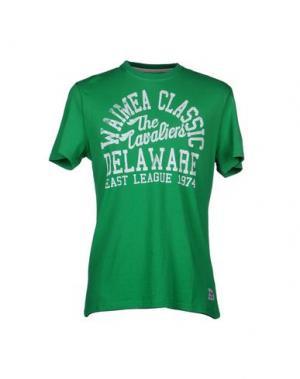 Футболка WAIMEA CLASSIC. Цвет: зеленый