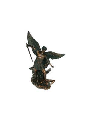 Статуэтка Архангел Михаил Русские подарки. Цвет: бронзовый