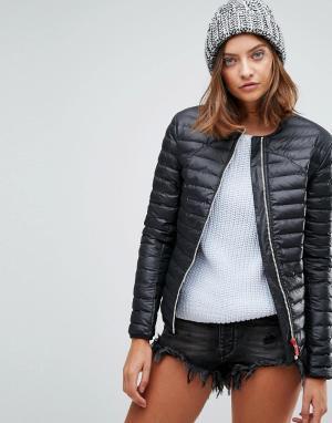 Hunter Дутая куртка Original. Цвет: черный