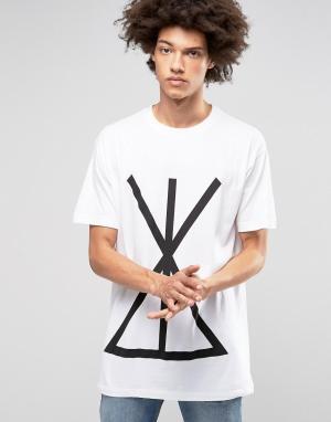 Long Clothing Oversize-футболка Union. Цвет: черный