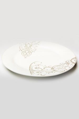 Фруктовая тарелкаЧерный ирис Ceramiche Viva. Цвет: мульти