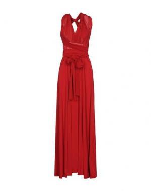 Длинное платье VON VONNI. Цвет: красный