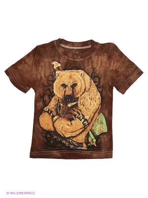 Медведь Stella. Цвет: коричневый