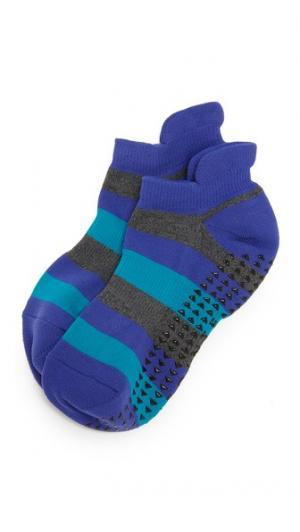 Носки Ava Cushioned Grip Pointe Studio. Цвет: голубой
