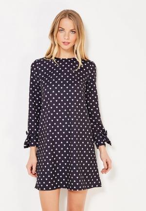Платье TrendyAngel. Цвет: черный