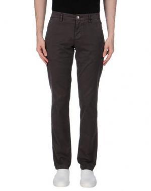 Повседневные брюки MANUEL RITZ WHITE. Цвет: стальной серый