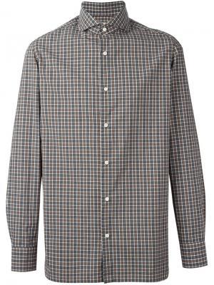 Рубашка Felice Borrelli. Цвет: серый