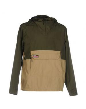 Куртка UNDEFEATED. Цвет: зеленый-милитари