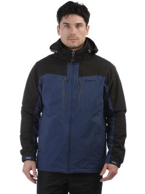 Куртка ANTA. Цвет: синий