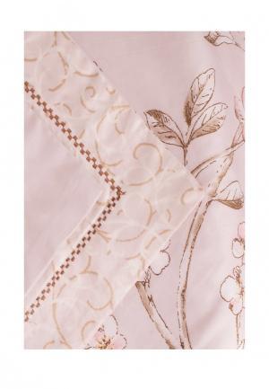 Комплект постельного белья 1,5-спальный Bellehome. Цвет: розовый