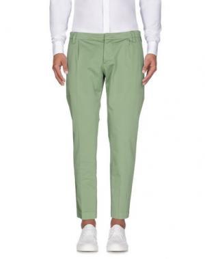 Повседневные брюки ENTRE AMIS. Цвет: светло-зеленый