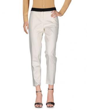 Повседневные брюки SINÉQUANONE. Цвет: белый