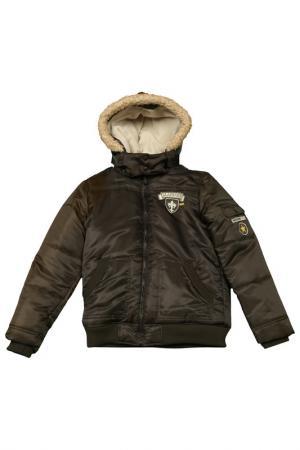 Куртка Fox. Цвет: темно-зеленый