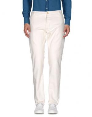 Повседневные брюки MOLO ELEVEN. Цвет: слоновая кость