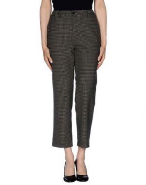 Повседневные брюки TRUE TRADITION. Цвет: свинцово-серый