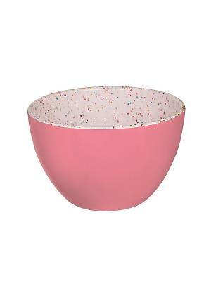 Миска малая/розовая карамель/10 см Zak!designs. Цвет: лиловый