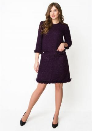 Платье ANASTASIA KOVALL. Цвет: пурпурный (пурпурный)