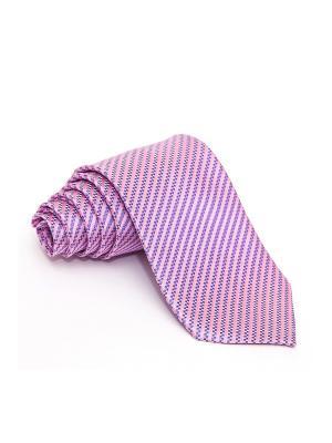 Галстук Churchill accessories. Цвет: голубой, светло-голубой, бледно-розовый, розовый, белый