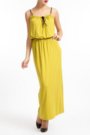 Платье M BY MAIOCCI. Цвет: yellow