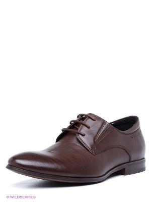 Туфли Mario Ponti. Цвет: коричневый