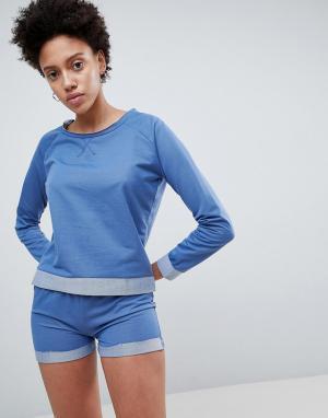 Lazy Days Темно-синяя пижама. Цвет: темно-синий