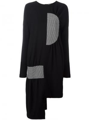 Объемное платье-свитер Aalto. Цвет: чёрный