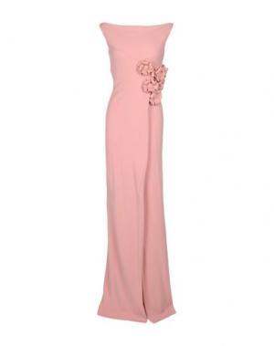 Длинное платье DSQUARED2. Цвет: светло-розовый