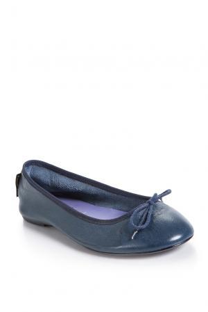Балетки 163627 French Sole. Цвет: синий
