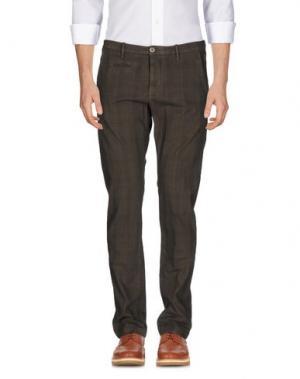 Повседневные брюки UNIFORM. Цвет: темно-коричневый