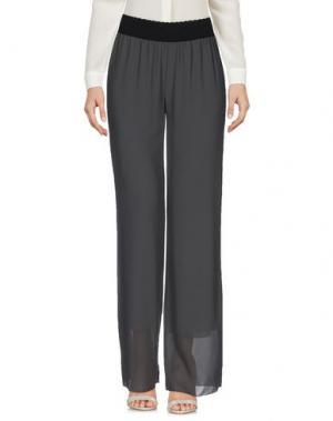 Повседневные брюки TROU AUX BICHES. Цвет: серый