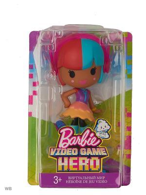 Маленькие куклы из серии Barbie и виртуальный мир. Цвет: голубой, красный