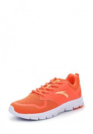 Кроссовки Anta. Цвет: оранжевый