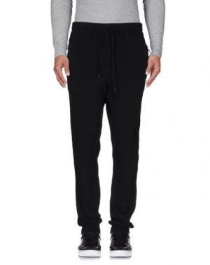 Повседневные брюки NLST. Цвет: черный