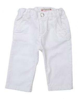 Повседневные брюки BONPOINT. Цвет: белый